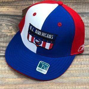 NJ Americans Retro Brooklyn Nets Fitted Hat NBA